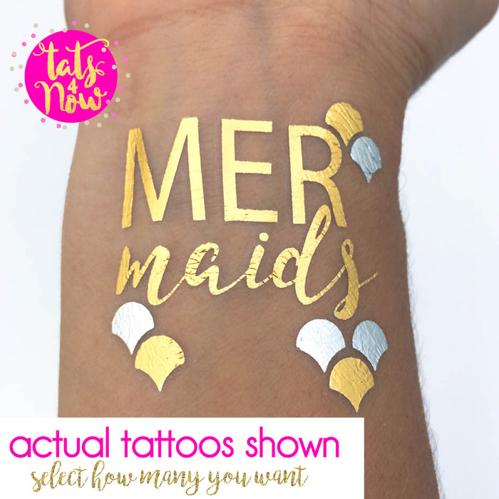 Mermaid tattoos **FREE Mermaid of honor**