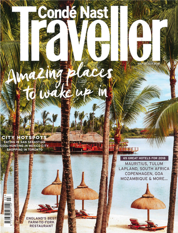 Conde Nast Traveller Ads feature