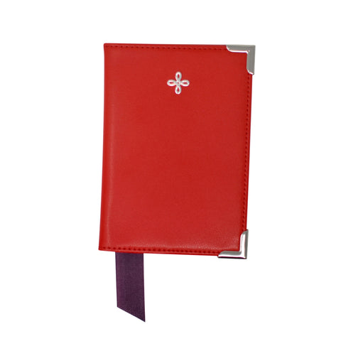 Red Nappa Leather Passport Holder