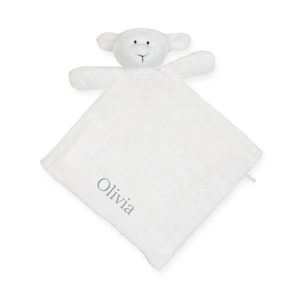Personalised Lamb Comforter