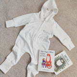 Personalised Baby Hooded All in One