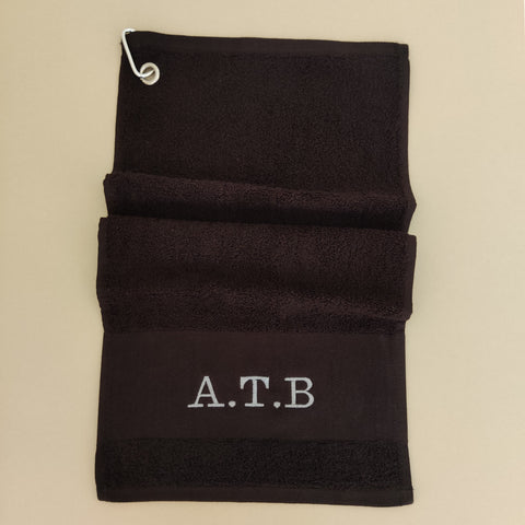 Personalised Premium Golf Towel