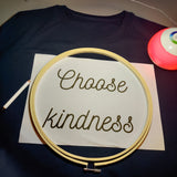 Choose Kindness Hand Embroidered Sweatshirt