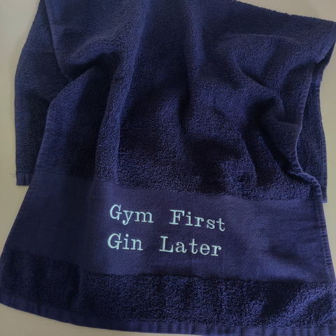 Personalised Premium Gym Fitness Towel