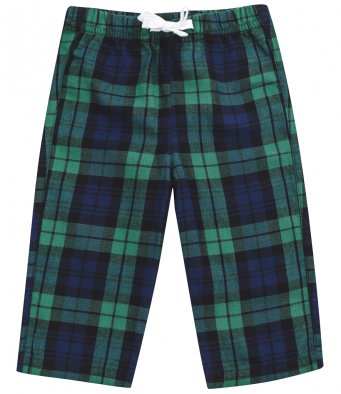 Baby Toddler Cotton Checked Lounge Pants