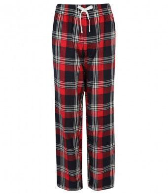 Cotton Checked Pyjama Bottoms