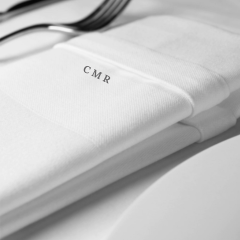 Personalised Premium Satin Band Napkin