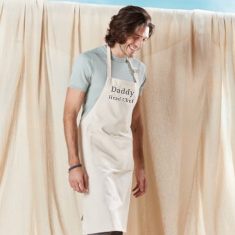 Personalised Adult Fairtrade Cotton Apron