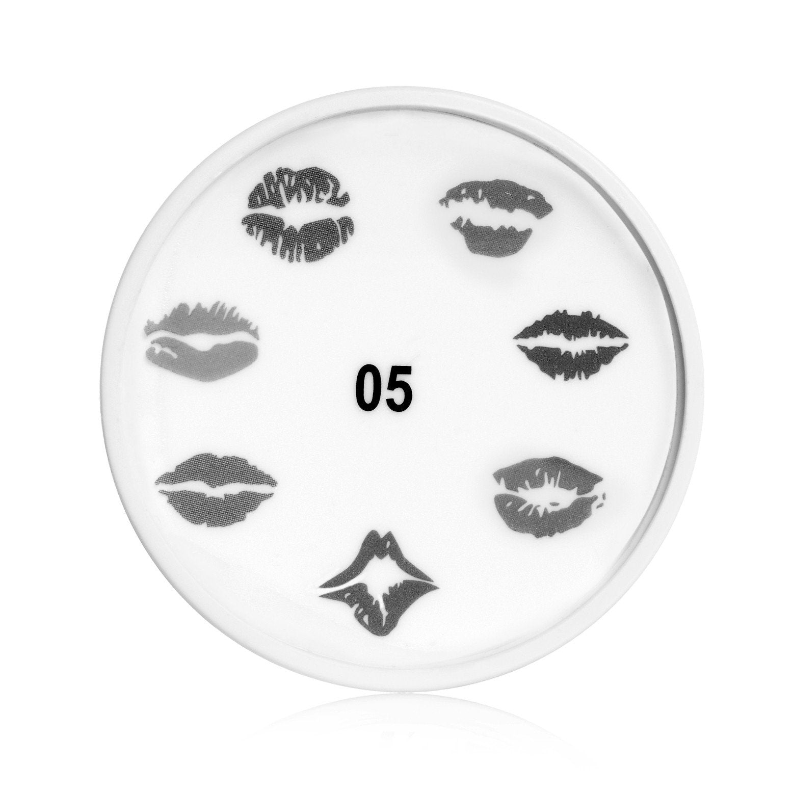 Read My lips Nail Art stamp