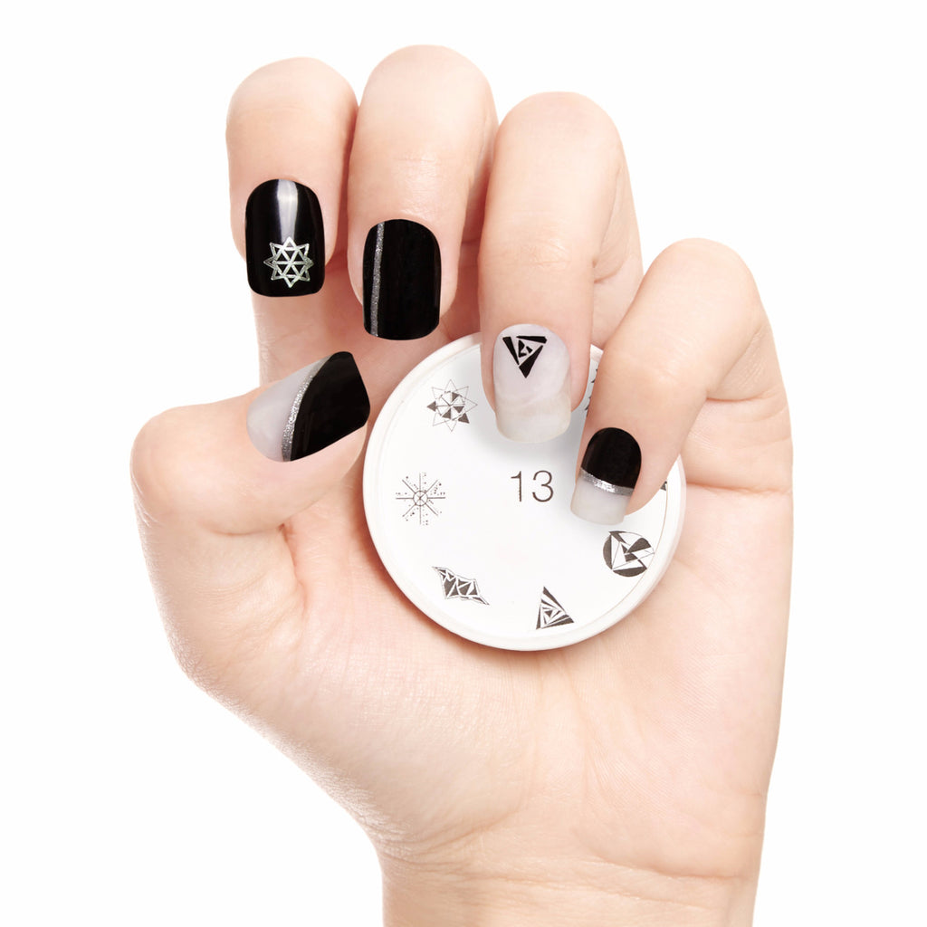 Cubisticated Nail Art Stamp