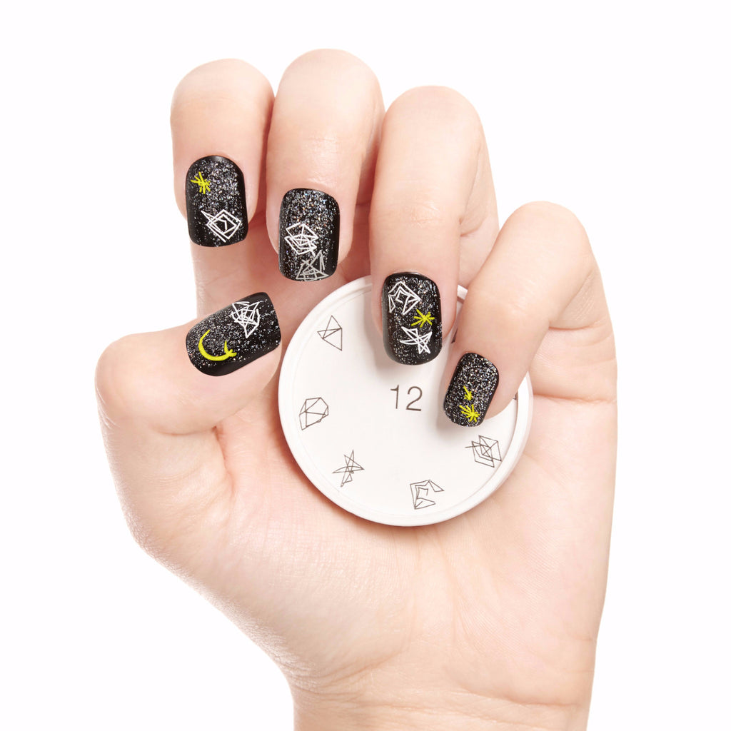 Unpredicted Nail Art Stamp
