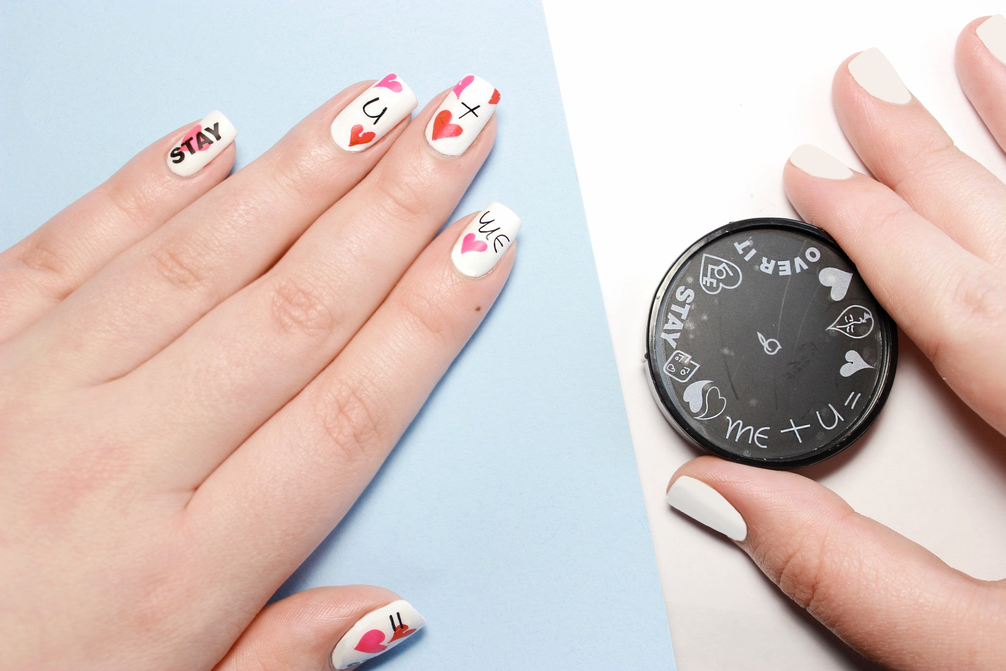 All about love nail art stamp apharsec all about love nail art stamp prinsesfo Image collections