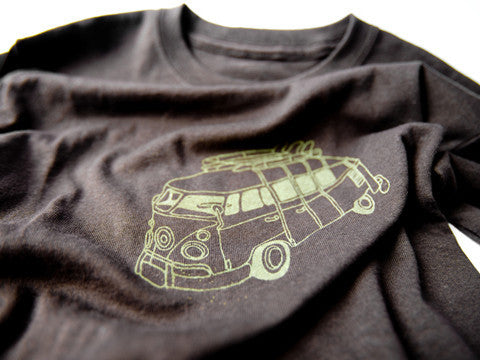 Green Campervan T-Shirt