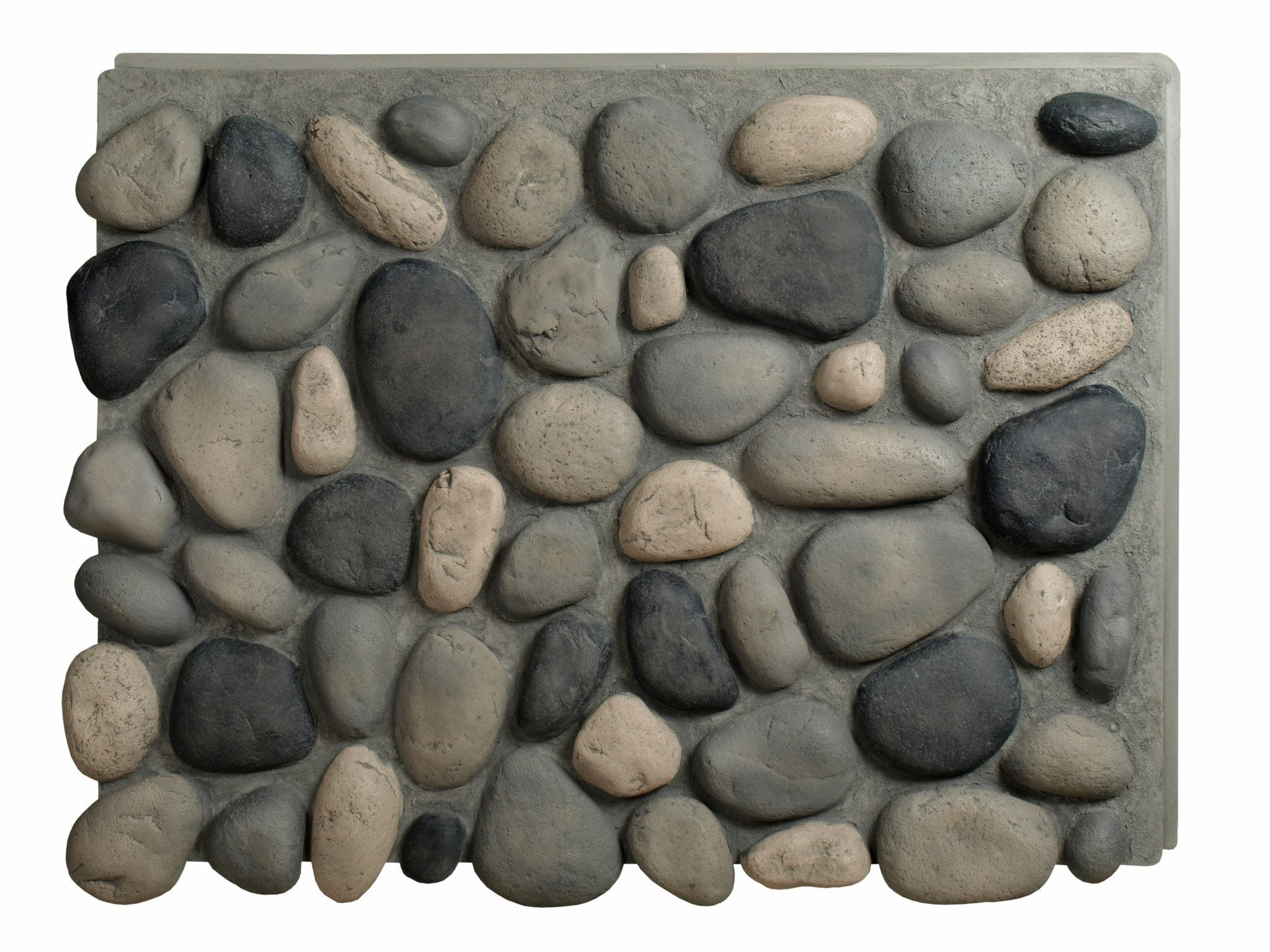 Faux river rock panels - River Rock Panels River Rock Panels