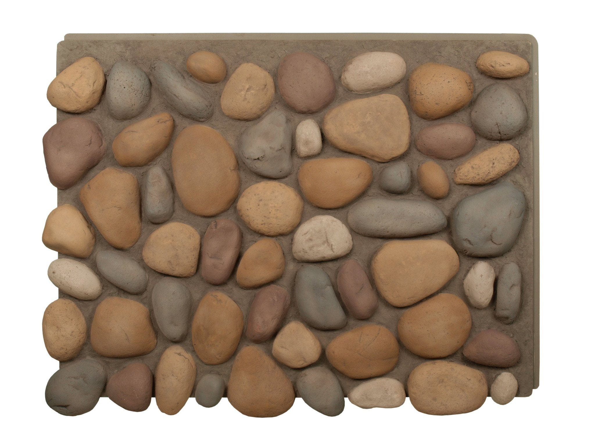Faux river rock panels -  River Rock Panels
