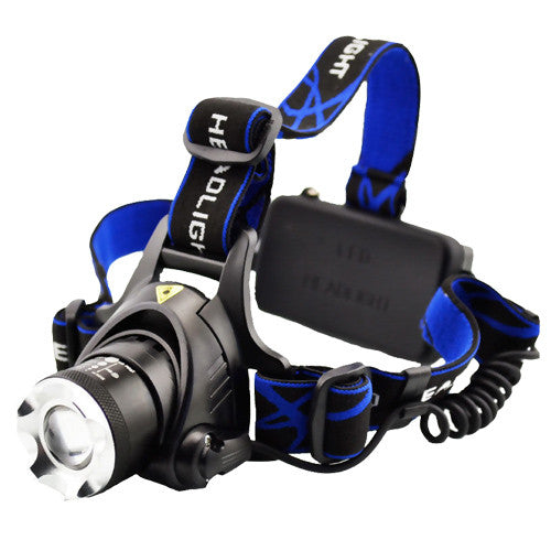 6000LM CREE LED Headlamp T6 Rechargeable Headlight