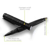 Tactical Pen for with LED Flashlight & Glass Breaker