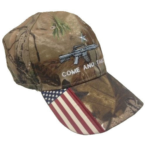 Come and Take It Rifle 2nd Amendment Cap