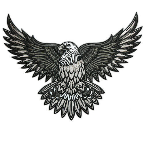 Bald Eagle Embroidered Patch