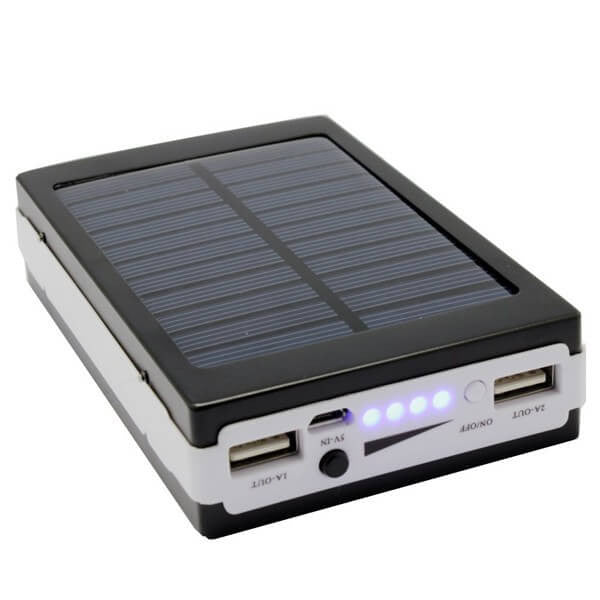 Dual USB Portable Solar Charger