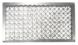 "Tjernlund Underaire Steel Crawl Space Vent, 18"" x 10"" Foundation Vent Screen"
