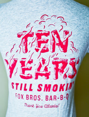 Fox Bros 10th Anniversary Ladies V-Neck