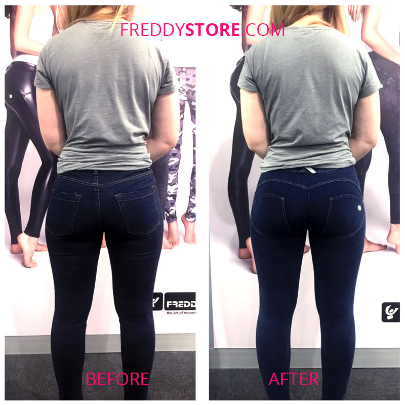 Before & After Freddy Jeans