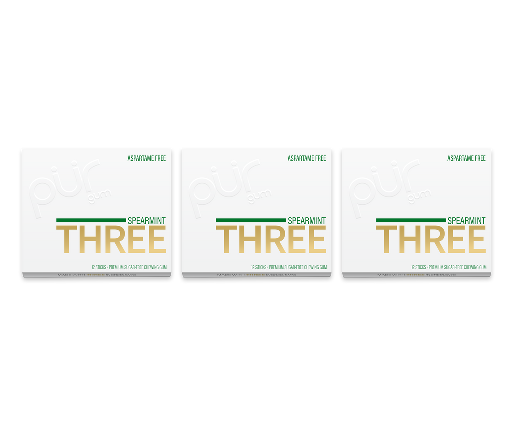 THREE STICK GUM- 3 Pack Bundle!