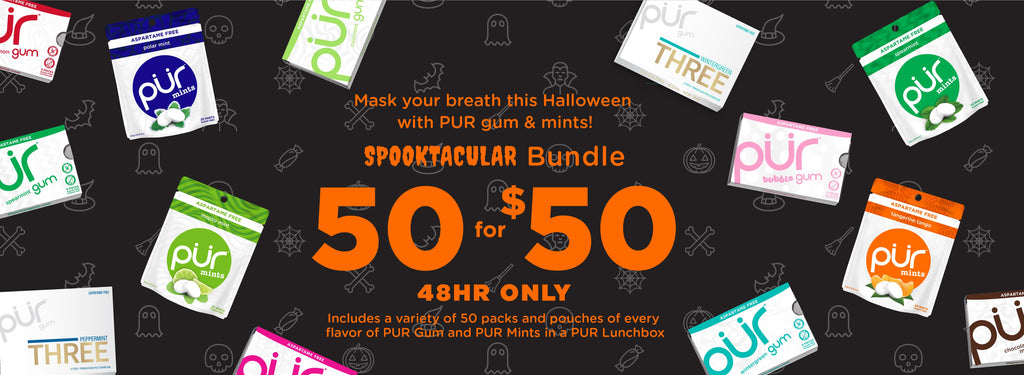 SPOOKTACULAR BUNDLE! 50 PACKS FOR $50