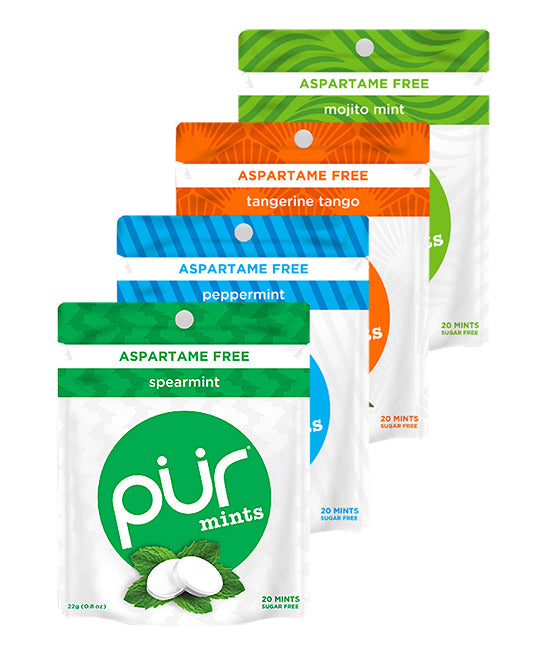 15 Mint Pouch Variety - Try Them All!