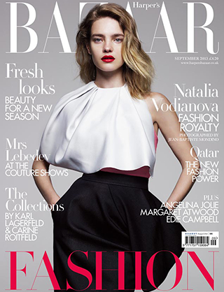 Harper's Bazaar September 2013