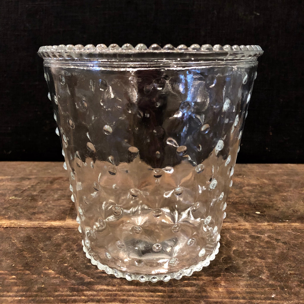 Cut Glass Pot