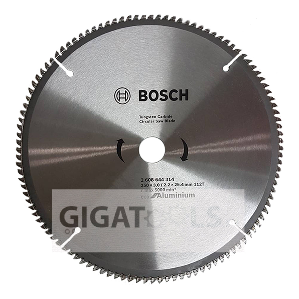 Bosch 10 x 112t circular saw blade for aluminum and wood bosch 10 x 112t circular saw blade for aluminum and wood 2608644314 greentooth Choice Image
