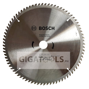 "Bosch (10"" x 80T) Circular Saw Blade for Wood ( 2608644310 ) - GIGATOOLS.PH"