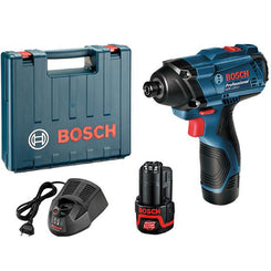 Bosch GDR 120-Li Cordless Impact Driver Professional 12V 1.5 Ah Li-ion Battery Kit Set