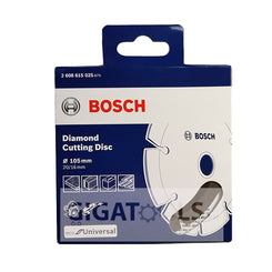 "Bosch 4"" Diamond Cutting Disc Universal for Concrete, Stone, and Tiles ( 2608615025 )"