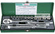 "Hans Tools 3617-A 3/8"" Drive 17 pcs. Heavy Duty 12 Points Socket Wrench Set (1/4"" - 7/8"") - GIGATOOLS.PH"