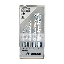 Bosch 5-piece Masonry Drill Bit Set (4/5/6/8/10mm) ( 2608590090 )