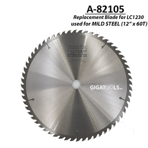 "Makita A-82105 TCT Circular Saw Blade for Mild Steel 305mm (12"" x 60T) ( CIRSWBL ) - GIGATOOLS.PH"