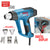 Bosch GHG 20-63 Heat Gun Heavy Duty 2000W with LED Display Air Temperature Indication and Selection