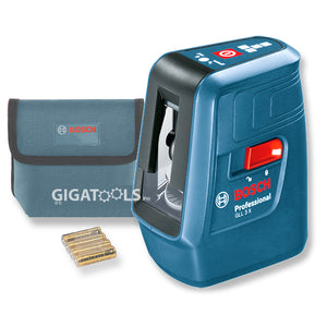 Bosch GLL 3X Professional 3 Line Laser Digital Levelling Tool - GIGATOOLS.PH
