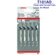 Bosch T101AO 5pcs Jigsaw Blade for Clean and Curved Cuts (HSS for Metal, 1.5-15mm) ( JIGSWBLD ) - GIGATOOLS.PH