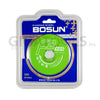 "Bosun Diamond Cutting Wheel F2, 4"" (105mm)"