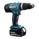 Makita DHP453 Cordless Hammer Drill 18V and DTW190 Cordless Impact Wrench 18V LXT Kit Special Bundle Offer ( 2pcs 18V 3.0Ah Battery )