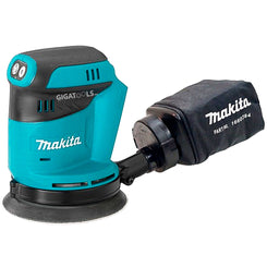 Makita DBO180Z Cordless Random Orbit Sander 18V LXT® Li-Ion 125mm (5″) (Battery and Charger are Sold separately)