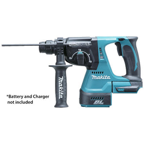 Makita DHR242Z Cordless Brushless Rotary Hammer 15/16″ 18V LXT® Li-Ion (TOOL ONLY. Charger, Battery & Dust Extruction are sold separately) - GIGATOOLS.PH