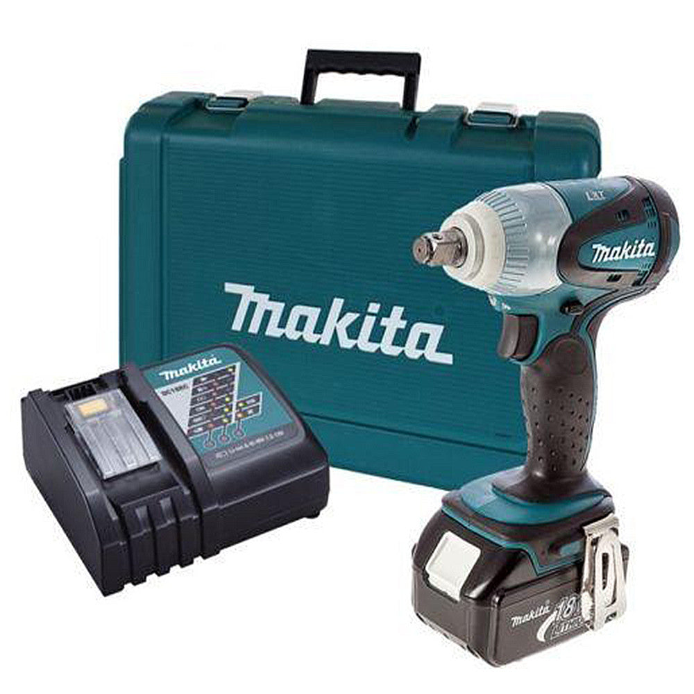 makita dtw251rf cordless impact wrench 18v lxt kit set. Black Bedroom Furniture Sets. Home Design Ideas