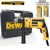 DeWalt DWD024K Percussion / Hammer Drill 13mm (650W) with 1 Set Masonry Drill Bit (5pcs) and 1 Set HSS Drill Bit (5pcs) - GIGATOOLS.PH
