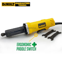 DeWalt DWE886P 25mm Straight Die Grinder with Ergonomic Paddle Switch (400W)