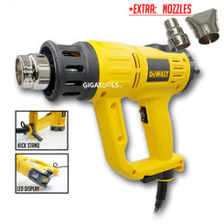 DeWalt D26414 -B1 Heat Gun with LED Display Air Temperature Indication and Selection (2,000W)